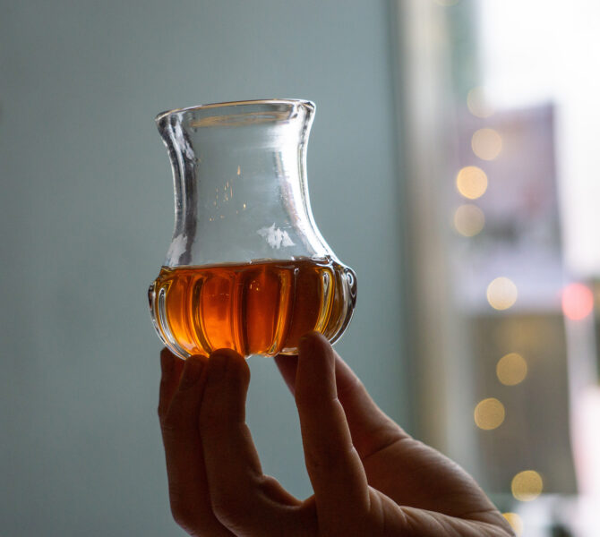 Small Batch Series selected glass image